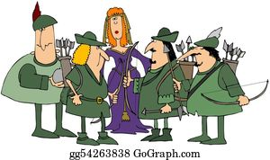 Bows - Robin Hood & His Merry Men