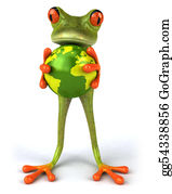 Tropical-Rainforest - Fun Frog With The World
