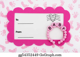 Baby-Footprint - Baby Shower Invitation