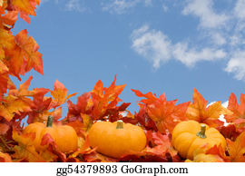 Fall-Harvest-Background - Fall Border