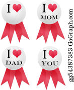 I-Love-You-Dad - I Love Pin