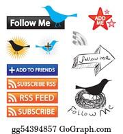 Bird-Feeder - Social Networking Icons