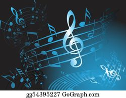 Musical-Notes - Blue Music Theme