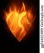 Flaming-Heart - Burning
