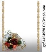 Christmas-Gold - Christmas Decoration Gold Border