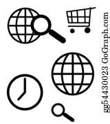 Time-For-Shopping - Communication Icons