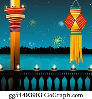 Festival - Lamp Lighting, Lanterns, Fireworks, Balcony,festival - Diwali