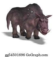 Boar - Fantasy Boar With Huge Tusks