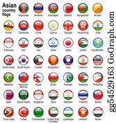 Globe-Flags - Flag Web Buttons