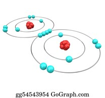 Atoms - Oxygen - Atomic Diagram