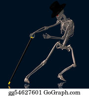 Reformation-Day - Dancing Skeleton #02