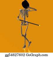Reformation-Day - Dancing Skeleton #03