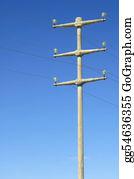 Power-Transmission-Line - Power Pole