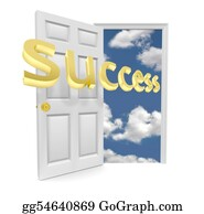 Blue-Sky - The Door To Opportunity - Success