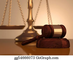 Judge-Gavel - Gavel And Scale Of Justice