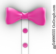 Bow-Tie - Pink Bow Tie