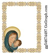 Nativity - Nativity Christmas Border