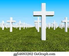 Headstone - Geen Land Cemetery