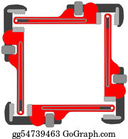 Plumbing - Pipe Wrench Photo Frame