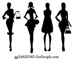 Meditative - Business Female Silhouette