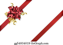 Wrap - Diagonal Red And Gold Gift Wrap