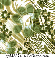 Classic-Victorian-Pattern - Abstract Flower Silk Background