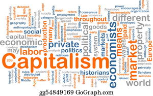 Government-And-Economy - Capitalism Management Word Cloud