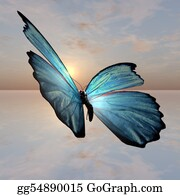 Heavenly - Morpho Butterfly