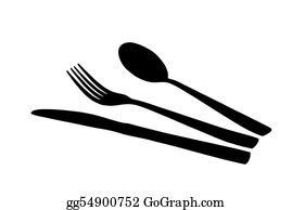 Dinner-Icons - Spoon, Knife And Fork