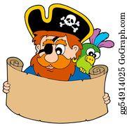 Treasure - Pirate Reading Treasure Map