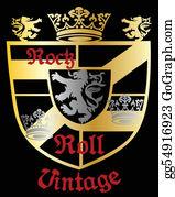 Royal-Lion - Heraldic Royal Emblem Shield
