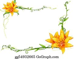 Vine - Yellow Flower And Vines