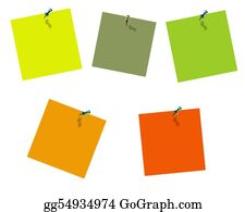 Tack - Collection Of Post Its