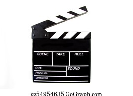 Movie-Production - Clapboard