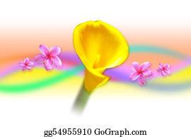 Cancun - Yellow Gladiola