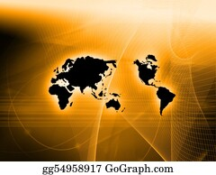 Map-Of-India - World Map Technology-Style