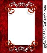 Valentine-Border-Hearts-Frame - Valentines Day Border Red Hearts