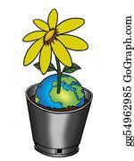 Flower-Pot - Worldflower