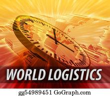 International-Trade - International Logistics Management Concept