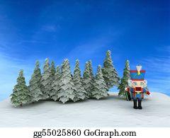 Nutcracker-Illustration - Nutcracker In The Forest