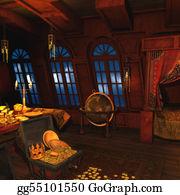 Cabin - Pirate Captains Cabin