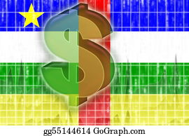 Economy - Flag Of Central African Republic Finance Economy