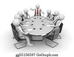 Conference - Meeting In Conference Room