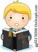 Boy-Reading - Reading Bible