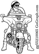Motorcycle - Road Police