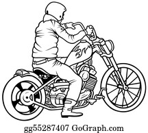Motorcycle - Motorcycle And Driver