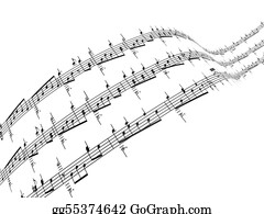 Sheet-Music - 3d Music Notes