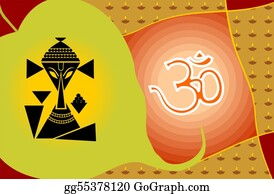 Ganesha -  Lord Ganesha And Om