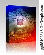 Buddhist - Buddha Illustration Box Package
