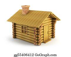 Cabin - Wooden Log-House